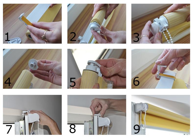 Instrukcja montażu rolety