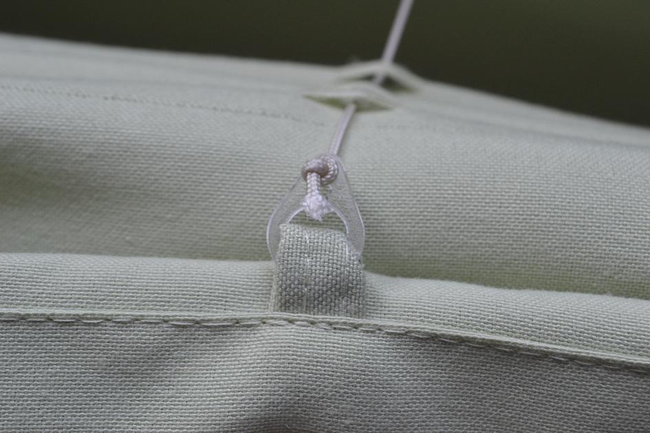 Roleta rzymska tkaniny