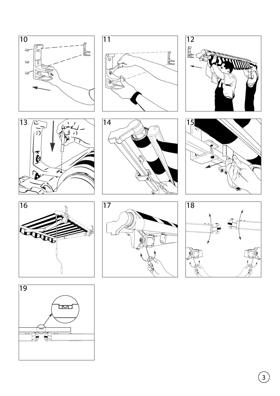 Instrukcja montażu markizy tarasowej Australia
