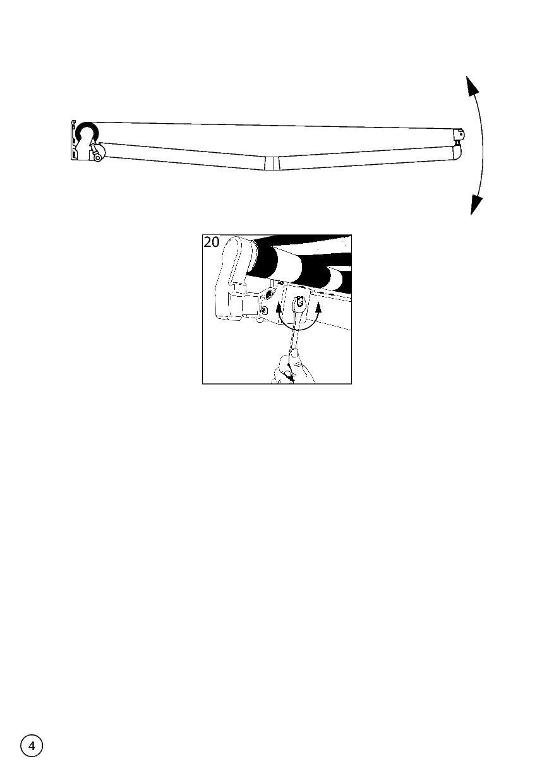 Instrukcja montażu markizy tarasowej Jamaica