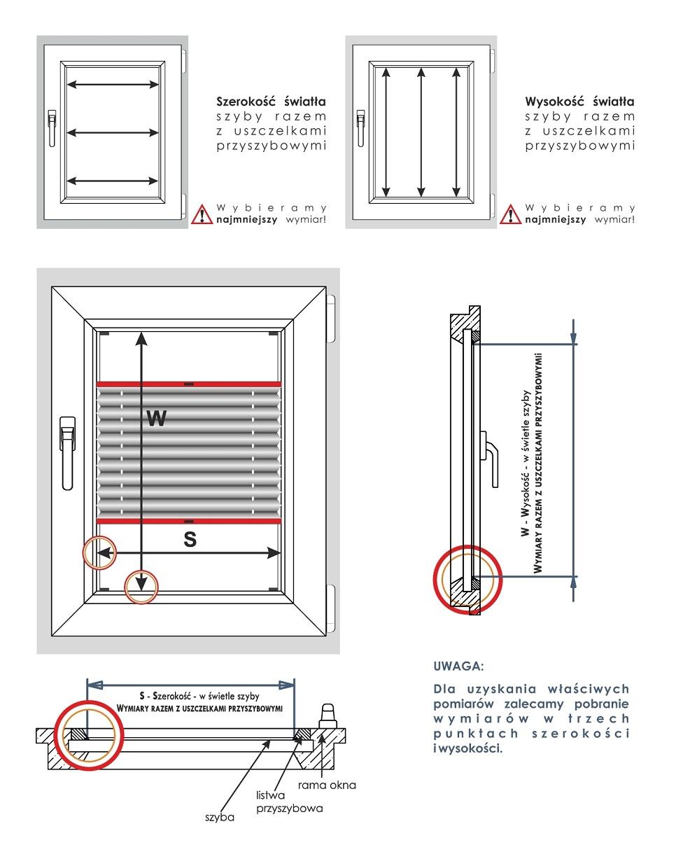 Jak mierzyć plisę